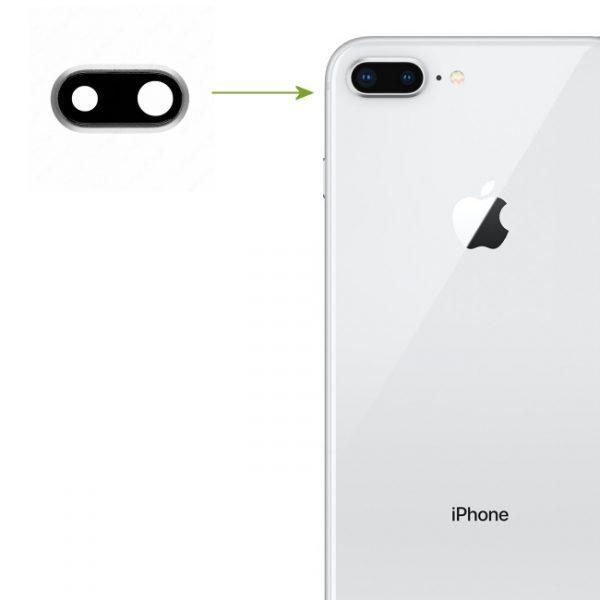 RéparationiPhone 8 plus lentille de caméra arrière