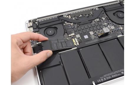 Remplacement disque dur MacBook