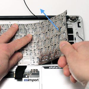 Remplacement clavier Macbook
