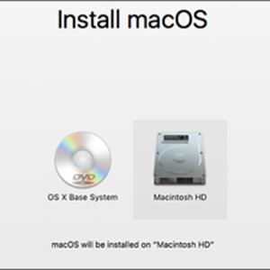 Installation MacOS